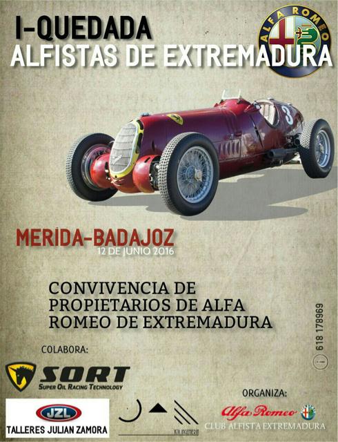 Primera Quedada de Alfistas de Extremadura con SORT