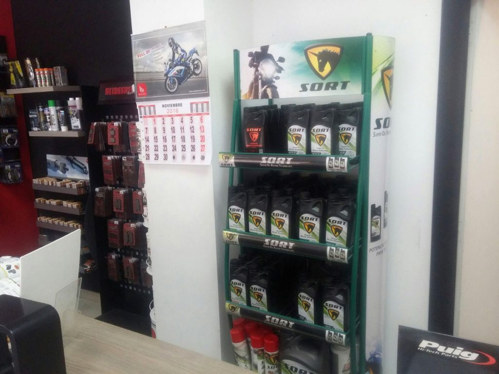 Recamoto - distribuidor SORT en Alicante