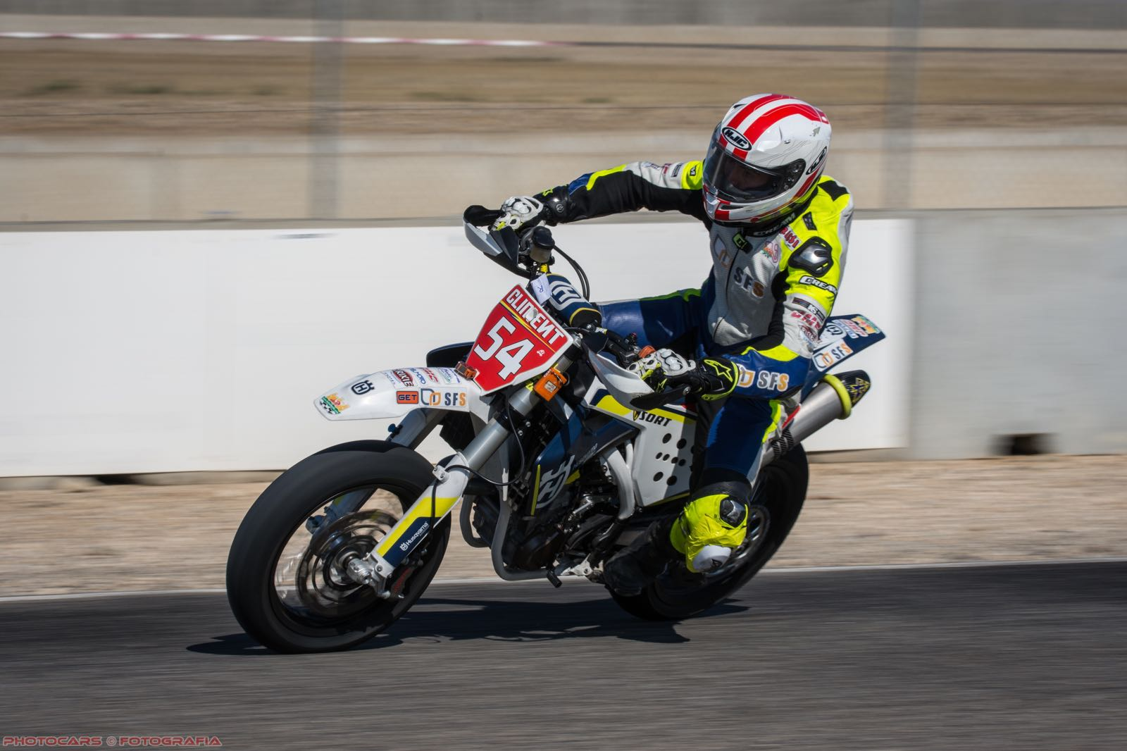 Jorge Climent - supermotard con SORT