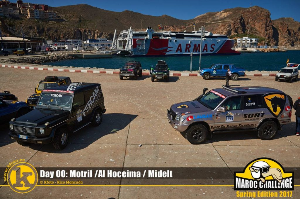Sort Adventure Team en la Maroc Challenge