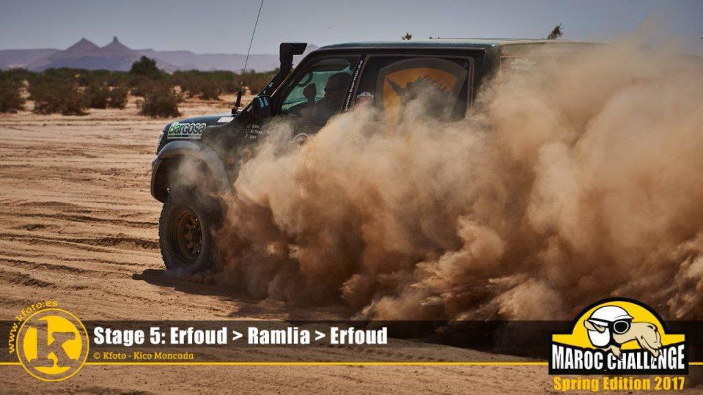 Sort en la Maroc Challenge