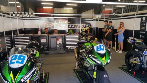 Pinamoto Racing en el CEV con SORT Lubricantes