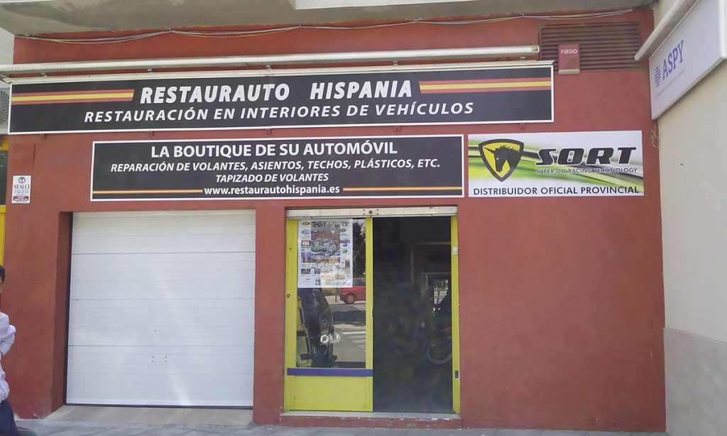 Restaurauto Hispania Distribuidor de SORT en Ciudad Real