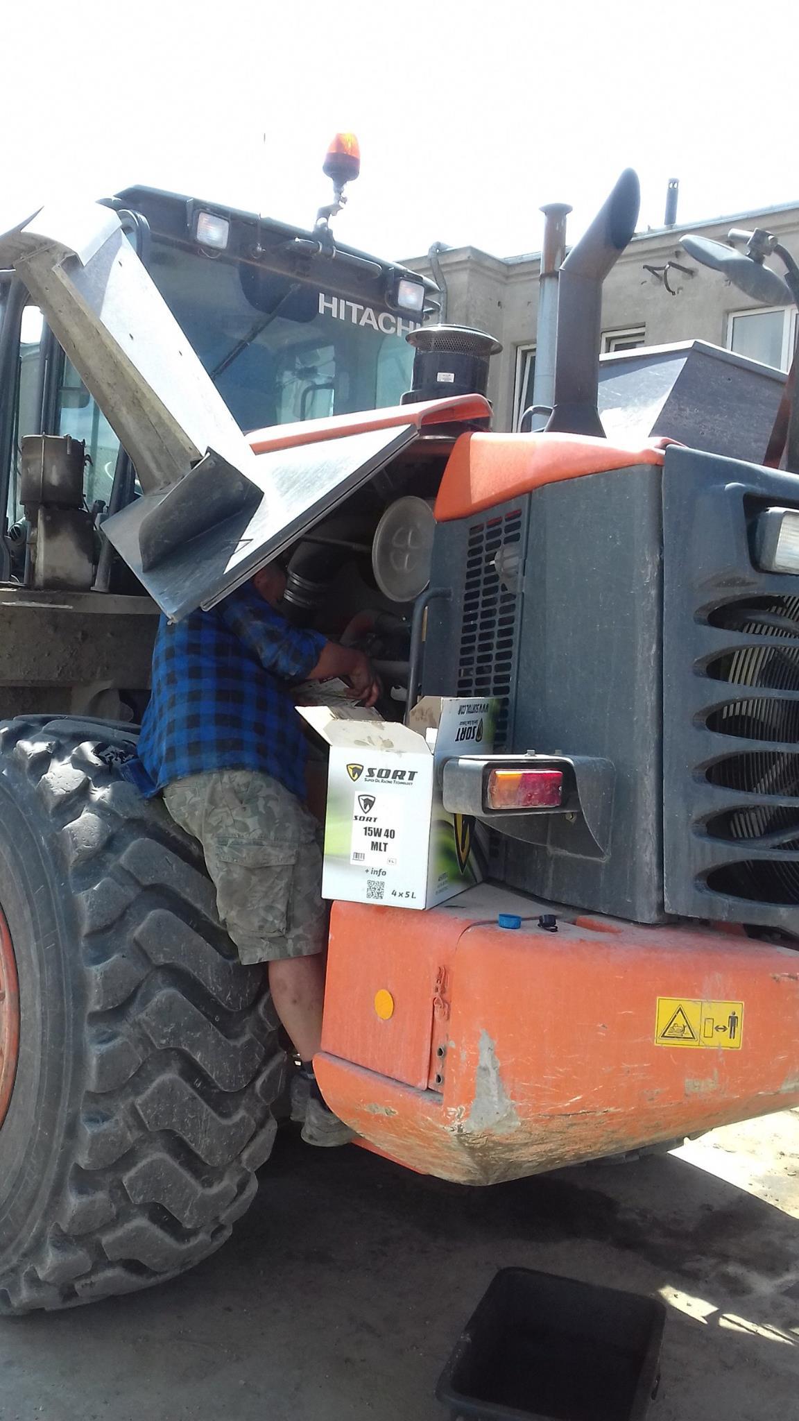 Lubricantes SORT para vehículo pesado