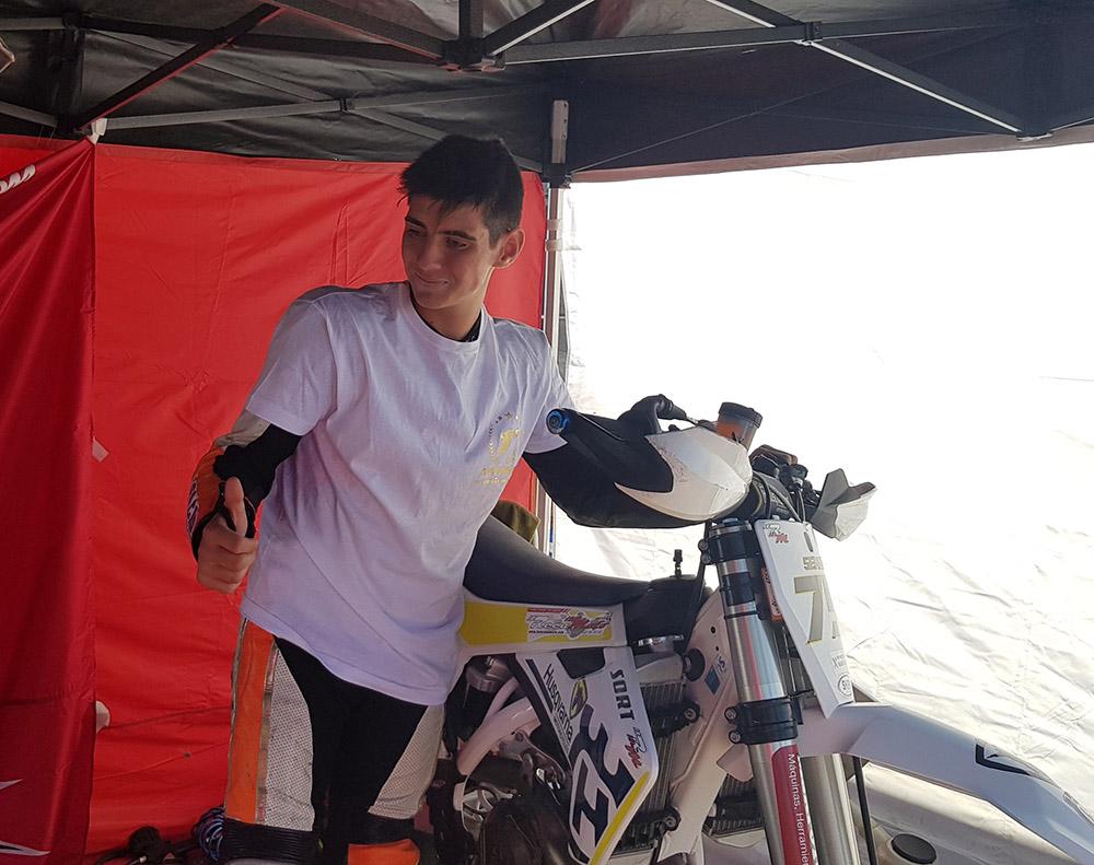 Sergio muñoz - Campeón de Supermotard 450