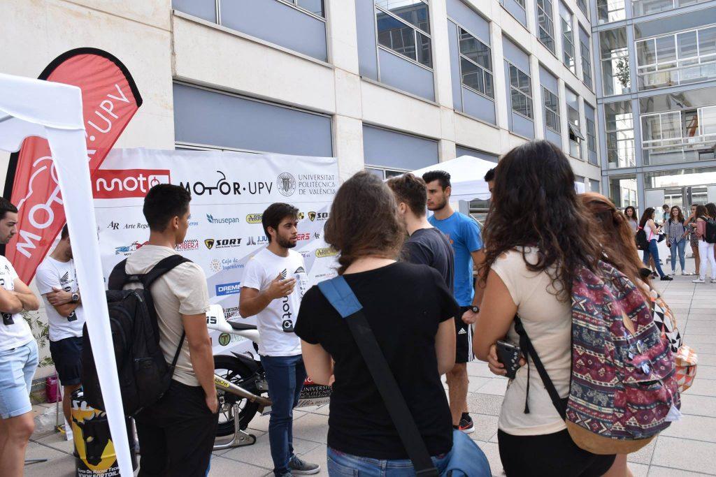 Motor UPV en la Universidad de Valencia