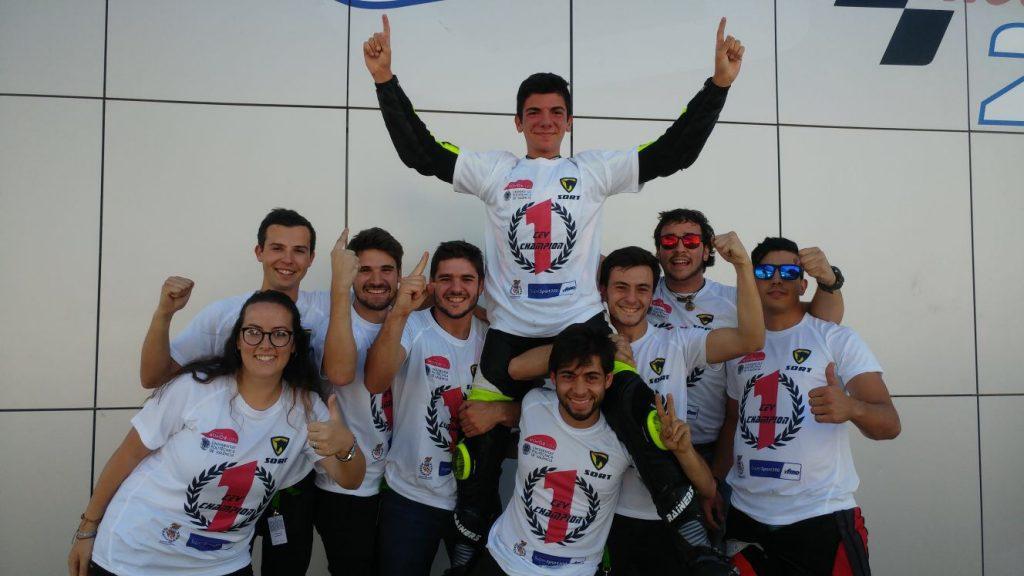 Motor UPV Equipo Campeón de España