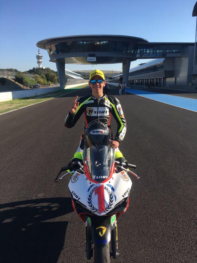 Samuel Di Sora - Campeón de España Supersport 300 con SORT