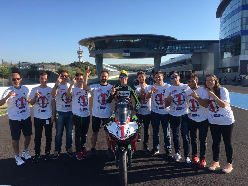 Campeones de España de Supersport 300