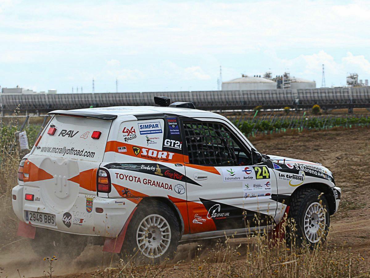 La categoría Open, tuvo como ganador al Toyota Rav 4 de Sergio Moreno-Juan Camino,