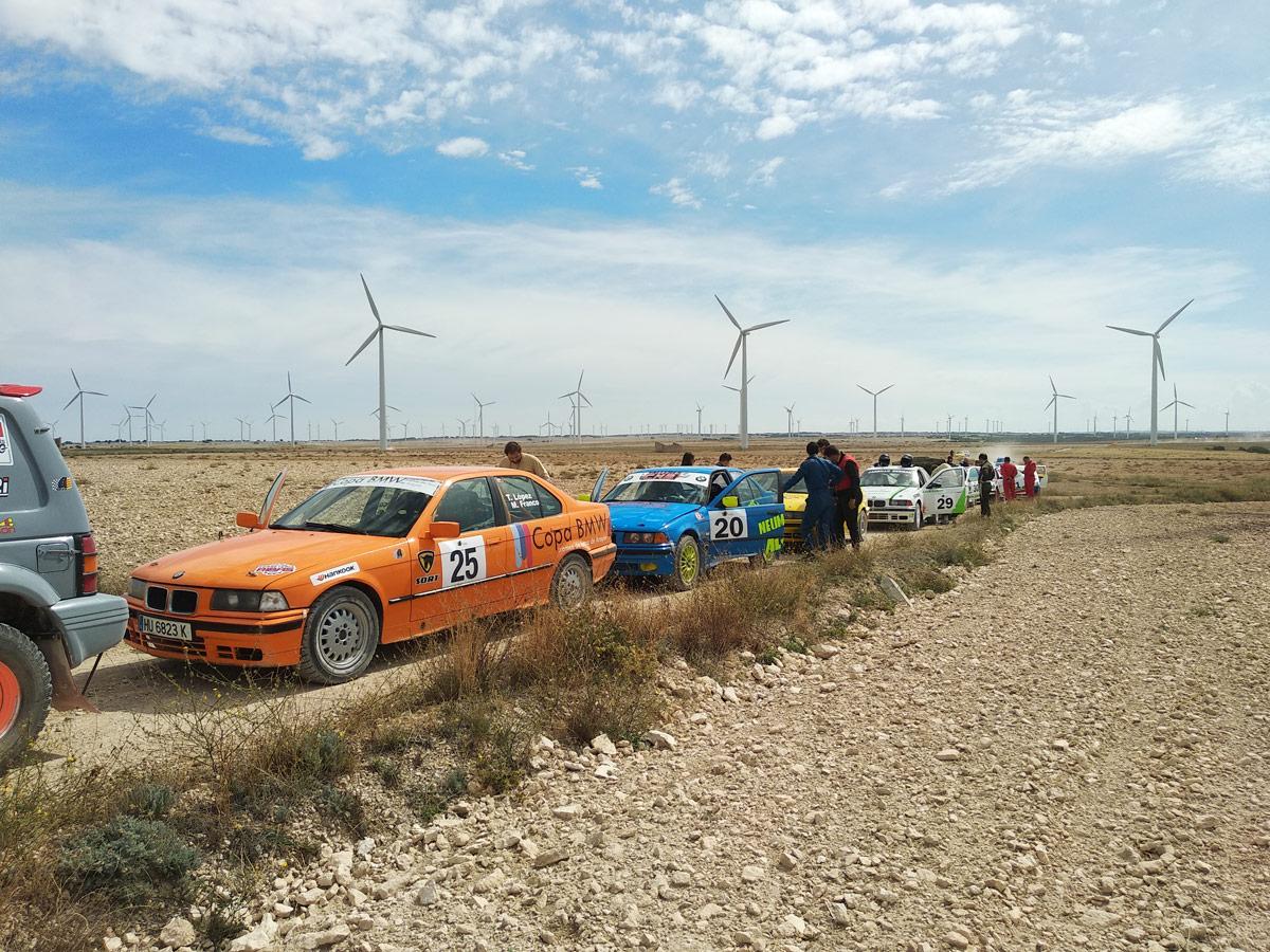 Copa BMW de Tramos de Tierra en Aragon con SORT