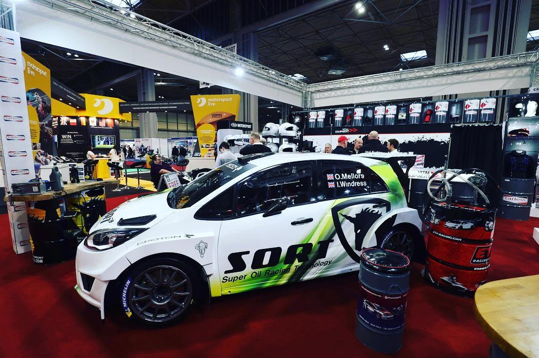 Presentación del Proton IRIZ R5 en Autosport International