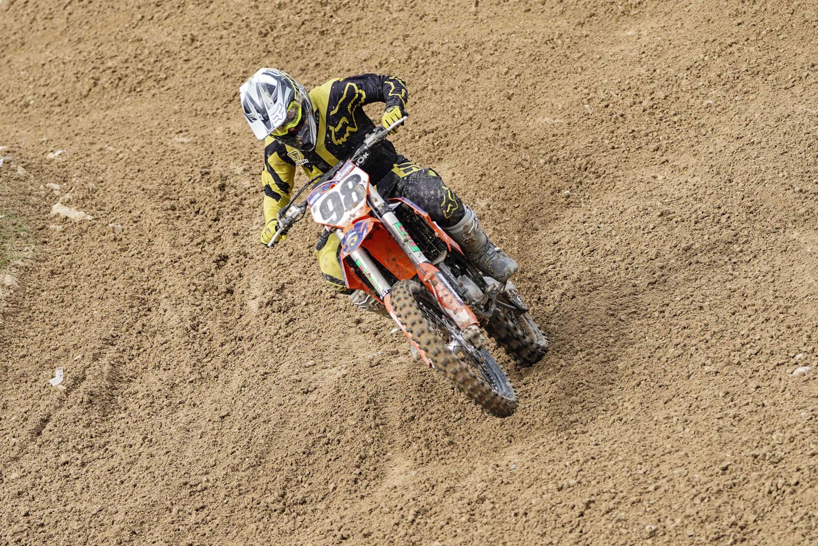 Sergio Valera del Equipo KTM - DERMOTOR - SORT