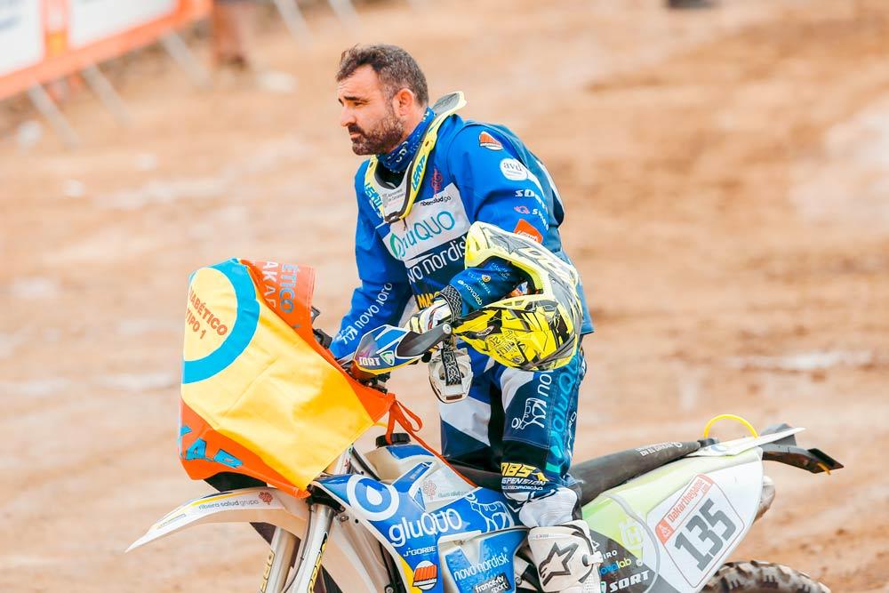 Daniel Albero en el Dakar 2019 con SORT
