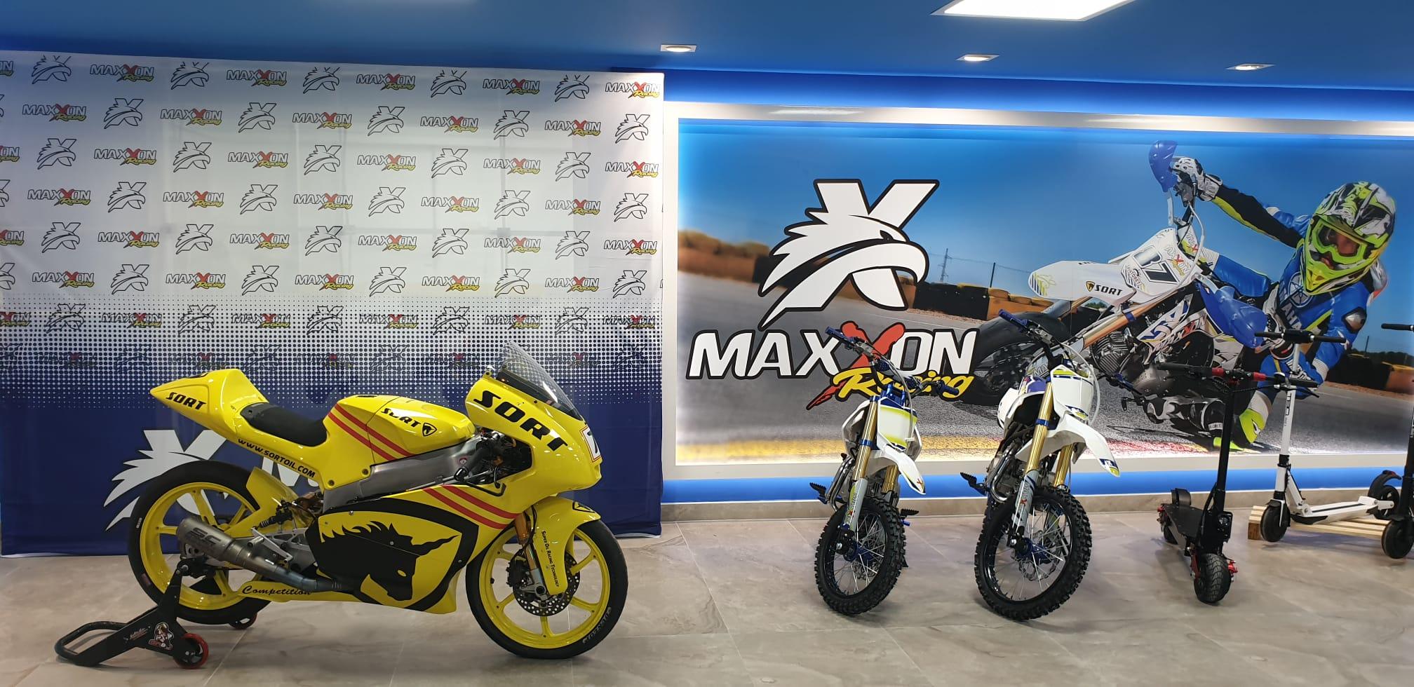 Nueva tienda de Maxxon racing