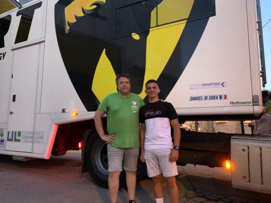 Samuel Di Sora y Germán Sáez en SORT