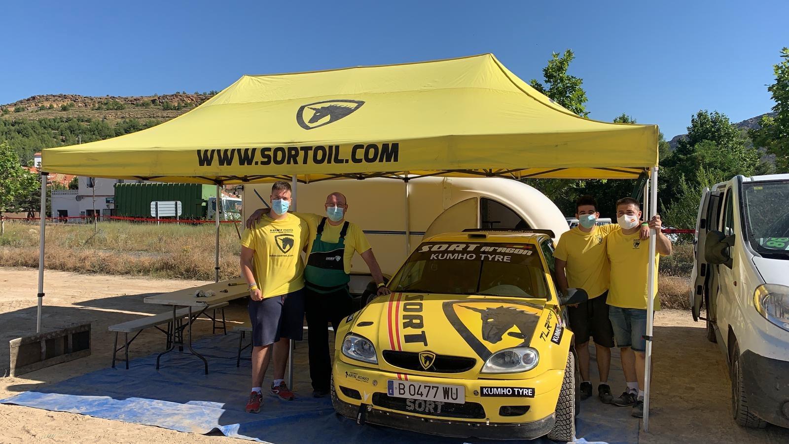 Sort Aragón en los Rallys de Tierra