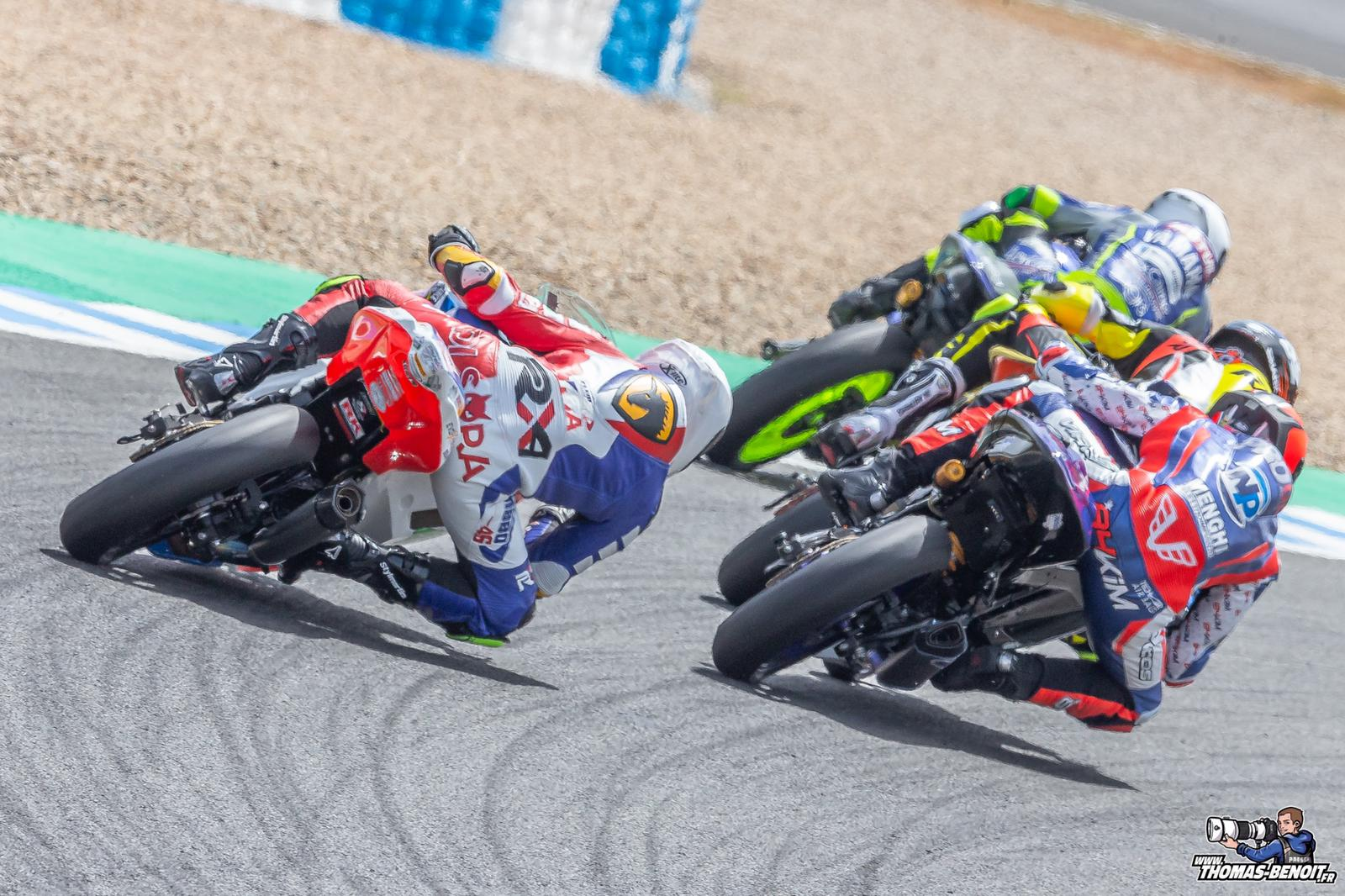 Samuel Di Sora en acción en Jerez