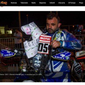 Dani Albero con SORT en RTVE