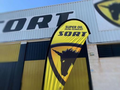 Fly Banner - Banderola SORT Racing